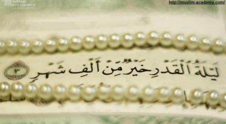 10 points towards successfully seeking Laylatul Qadr