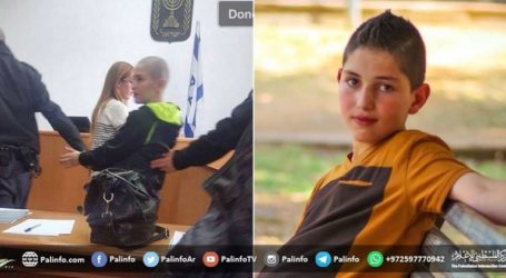 Report: Israel Prosecutes 700 Palestinian Minors Annually