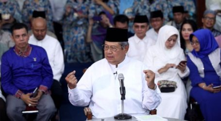 Former President Yudhoyono Speaks about Economy and Islam