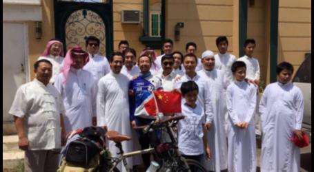Man Rides Bike from China to Mekah to Perform Haj
