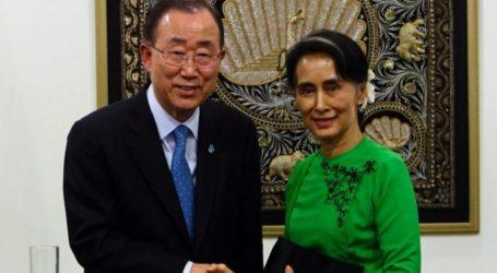 UN Chief Backs Myanmar Efforts to Resolve Rakhine Issue