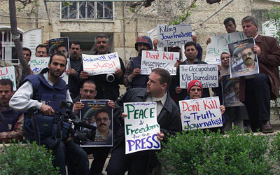 Palestine Launches Campaign to Support Freedom of Press