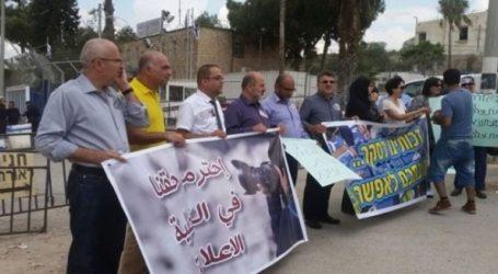 Arab Journalists Rally In Wadi Ara Against Israeli Police Discrimination
