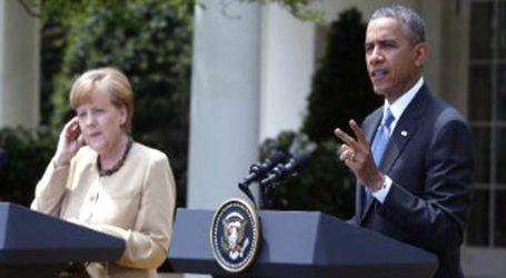 Obama, Merkel Condemn Russian, Syrian Air Strikes In Aleppo : White House