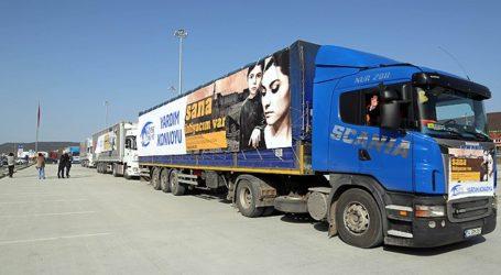 UN Sends 20 Aid Trucks to Syria from Turkey