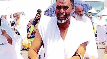 Boko Haram Victim Performs Haj with an Amputated Leg