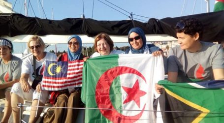 Women's Boat To Gaza To Reach The Strip On Saturday