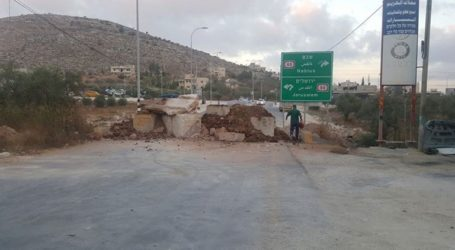 IOF Tightens Military Restrictions South of Nablus