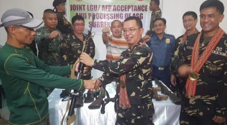 Philippines: 21 Militants Surrender in Troubled South