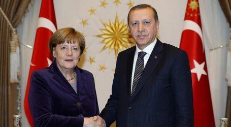 Erdogan, Merkel Discuss Syiria