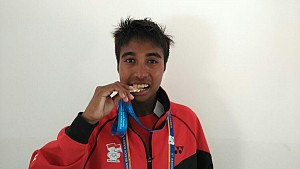 Indonesian Athletes Adds Three Bronze Medals in Asian Beach Games