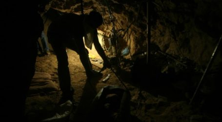 Palestinian Killed in Gaza Tunnel Collapse