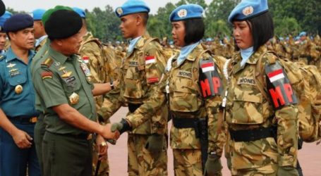 Indonesia to Increase Number of Peacekeeping Personnel