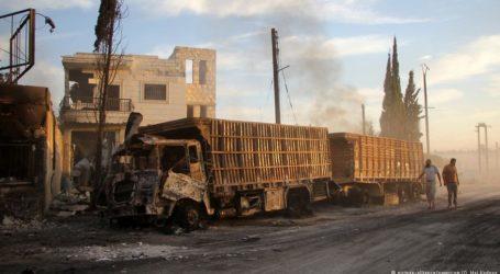 Syria Aid Convoy Hit by Air Strike – UN Expert
