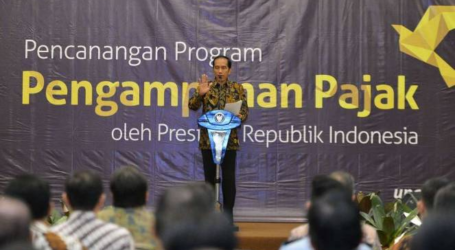 Tax Amnesty Target in 1 st Phase Reaches 90.1 Pct