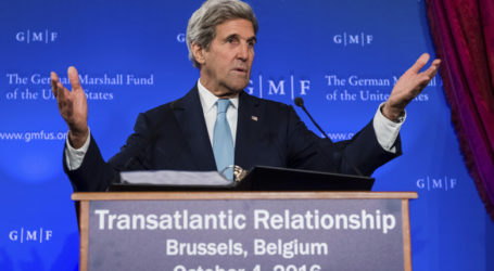 Kerry : We Are Not Abandoning Syrian People