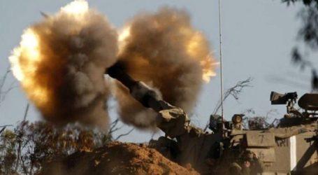Israeli Artillery Shelling Hits Northern Gaza