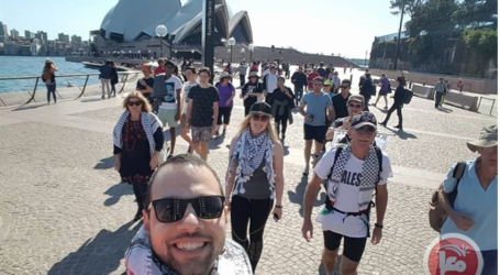 Australian Activists Hold March to Support Palestine