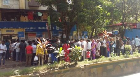 People Throng Banks To Exchange Rs. 500, Rs. 1,000 Notes