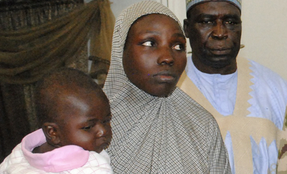Missing Chibok Schoolgirl Found with Baby, Nigerian Army Says