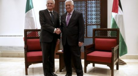"""""""Peace is Our Strategic Goal"""" – Palestinian President"""