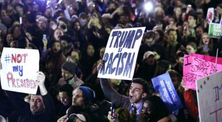 Anti-Trump Rally is Underway in US