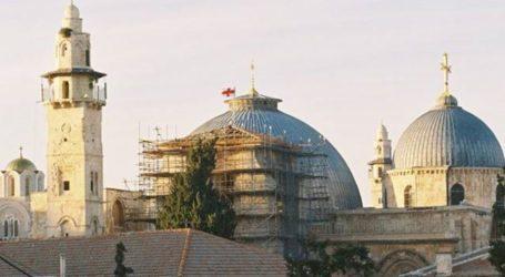 Tension Over Raising Israeli Flag on Holy Sepulchre Crunch