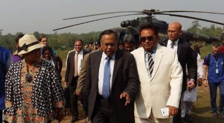 FM Retno Visits Refugee Camp Near Bangladesh-Myanmar Border