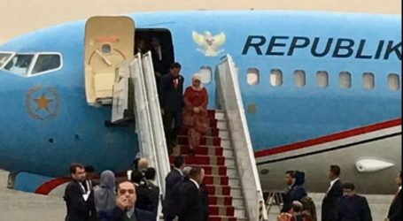 President Jokowi Arrives in Iran for Official Visit