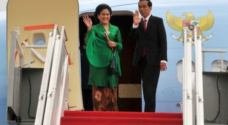 President Jokowi Arrives in New Delhi for Two-Day Visit