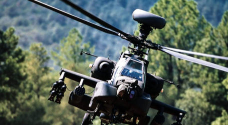 TNI Optimistic of Showcasing Apache Attack Helicopter at Its Anniversary