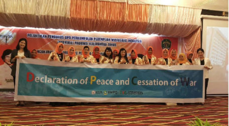 PEWIRA Indonesia Appointed Head of Kalimantan As Supporting the Implementation of International Law for Peace