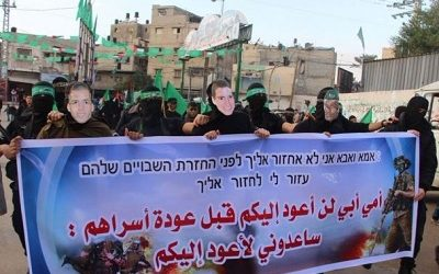 Israel Says It Will Not Return Slain Hamas Fighters