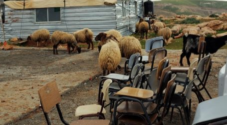Israel to Demolish Makeshift School for Jerusalem Rural Communities' Children