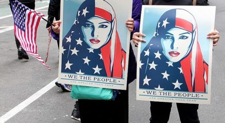 New York City 'I Am A Muslim Too' Rally Protests Travel Ban