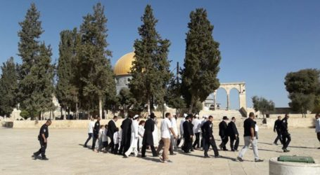 330 Israeli Settlers Broke into Al-Aqsa over Past Week
