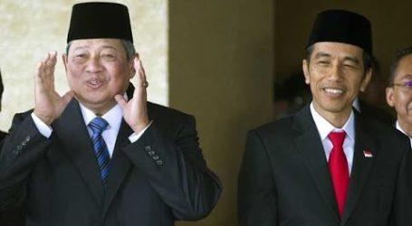 Former President Yudhoyono Meets President Jokowi