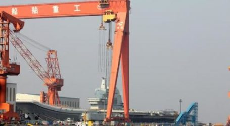 China Launches First Domestically Constructed Aircraft Carrier