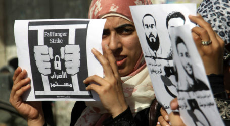 Palestinian Prisoners Continue Their Strike for 13th Day