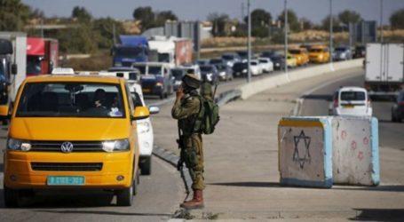 IOF Sets up Roadblock West of Salfit