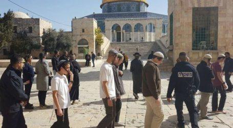 1.782 Israelis Stormed Al-Aqsa Mosque Last March