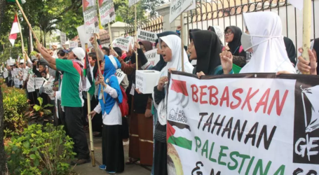 Palestinians Thank to Indonesians for Continuously Supporting Al-Aqsa Liberation
