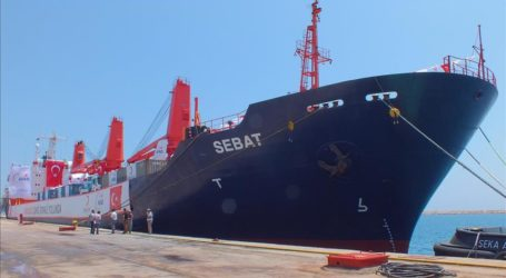 Turkish Humanitarian Aid Ship Leaves for Somalia