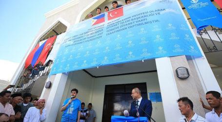 Turkey Opens Mosque, Muslim Center in Philippines