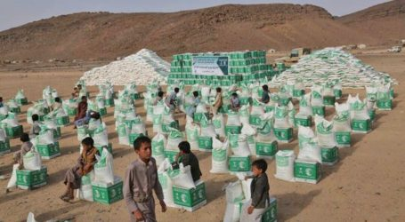 KSRelief Delivers 778 Tons of Food, Medical Aid to Yemen