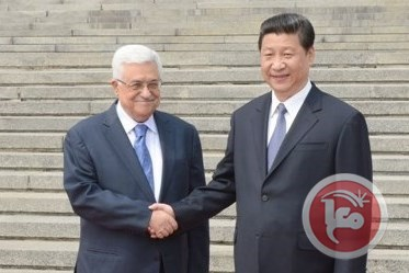 Palestinian President Declares Support for Chinese President's Peace Initiative