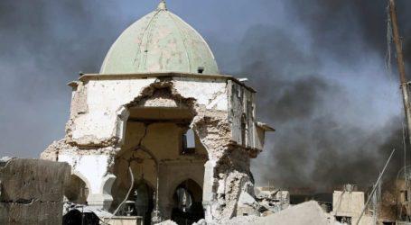 Video Shows Destruction of Mosul's Grand al-Nuri Mosque and al-Hadba Minaret