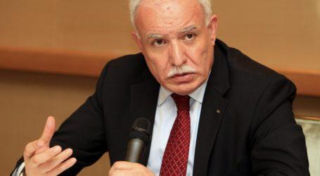 Palestinian FM Appreciates King's Efforts to Defuse Al-Aqsa Stalemate