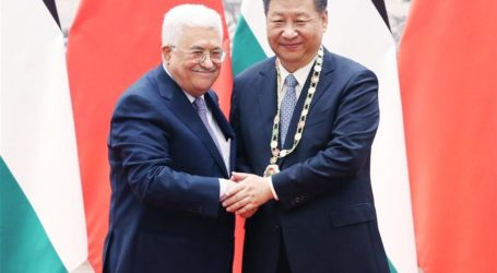 China President Supports Two-State Solution on Palestinian Issue