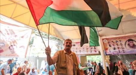 Gazans Rally for Release of Palestinians Held in Israel